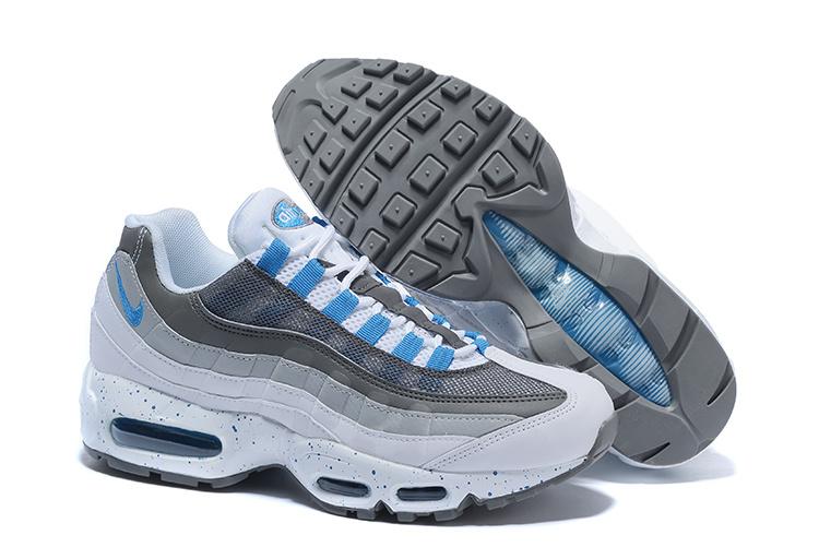 air max 95 noir blanc bleu