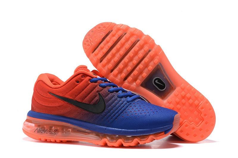 baskets nike air max bleu et orange