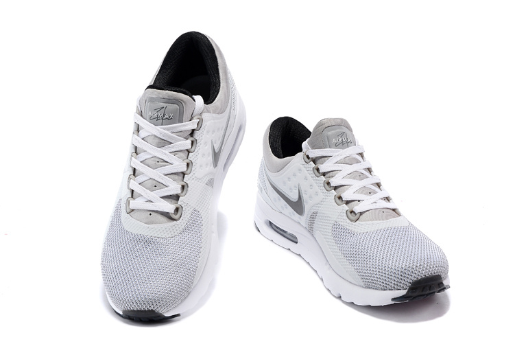 new products 1f14f a1a5e ... low cost air max zero nike idair max zero homme blanche et grisair max  c6359 7d54d