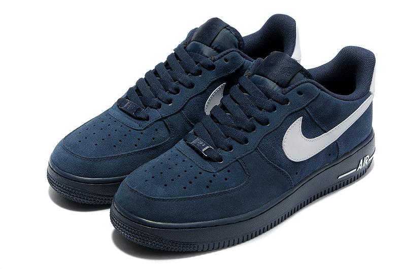 air force one blanche et bleu homme