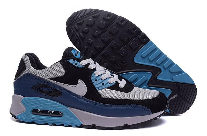 air max 90 gris bleu