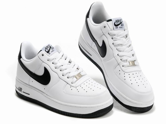 nike air force one homme blanche et noir