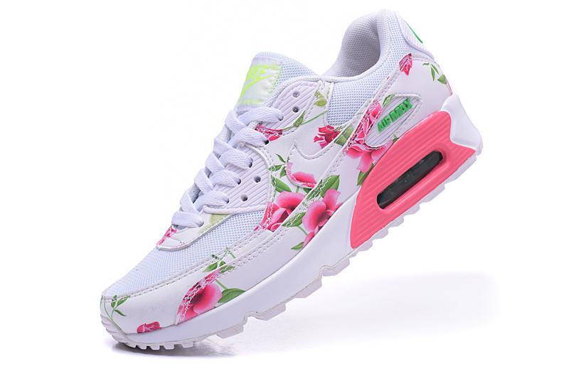 air max 90 femme blanche solde