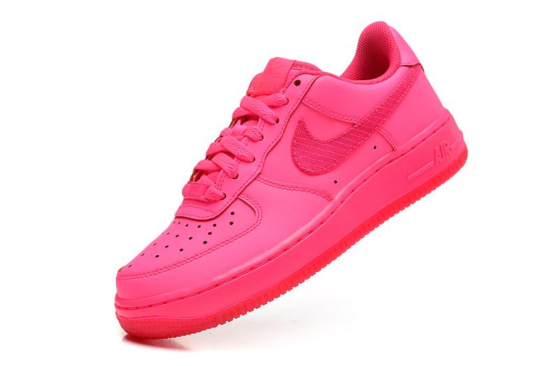 air force 1 femme noir et rose