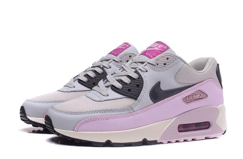 air max 90 femme gris et rose