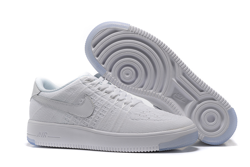air force one blanche femme courir