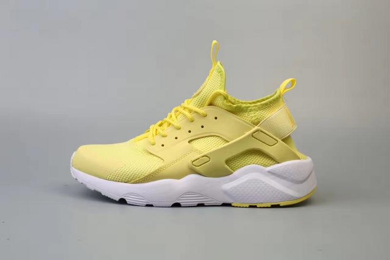 nike huarache jaune