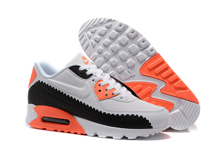 air max 90 homme noir orange