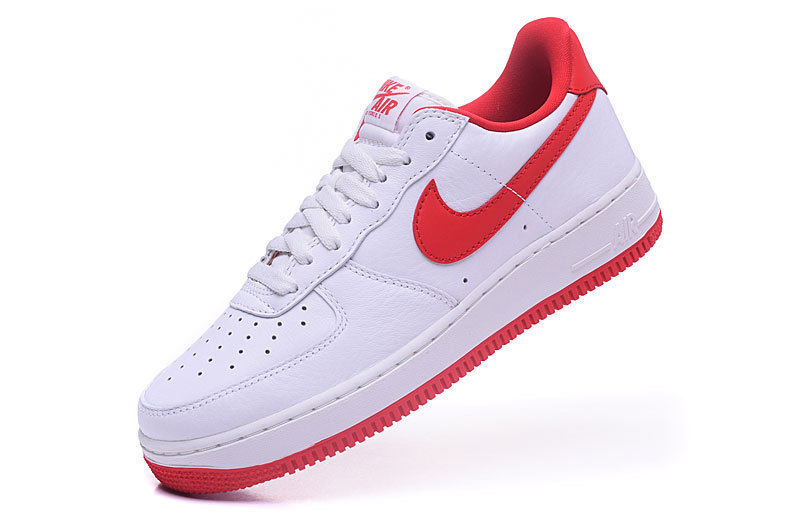 nike air force 1 femme blanc rouge