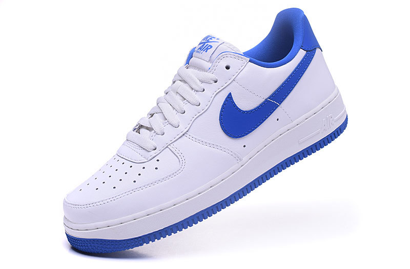 nike air force one femme bleu
