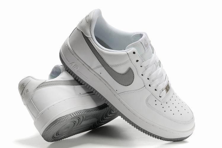 nike air force 1 blanc gris