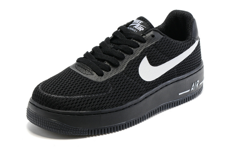 air force one low noir et blanc femme