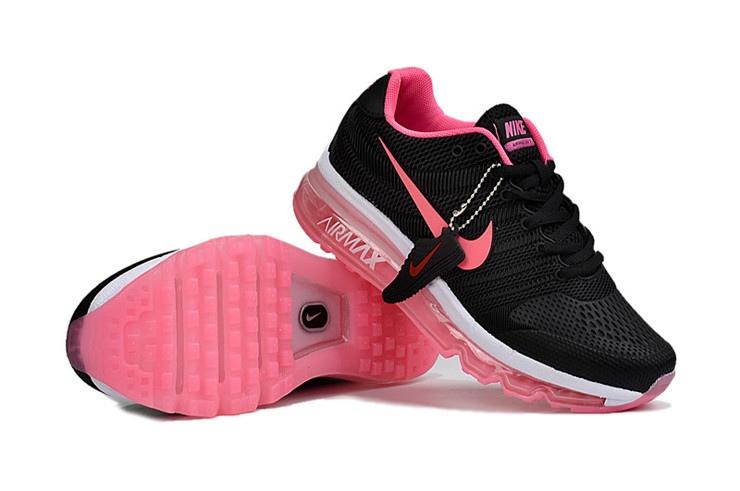basket air max femme noir et rose