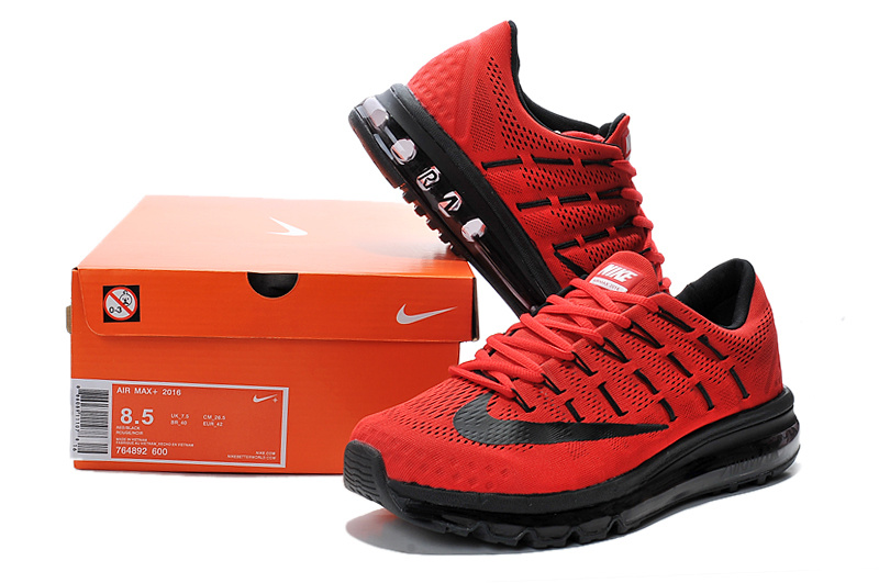 basket air max rouge homme